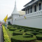 Buitenkant van Grand Palace