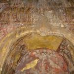 Muurschildering in tempel