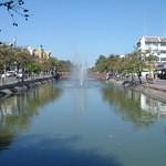 Kanaal rond de oude stad