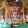 Een van de tempels in de stad Chiang Mai