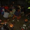 Oudjaarsavond bij vrienden bij Chiang Mai