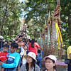 De trap op naar de tempel Wat Prathat Doi Suthep