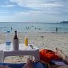 Patong Beach. Erg vervelend.