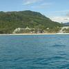 De tocht naar Patong Beach