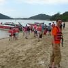 Dagtocht naar een onbewoond eilandje met de speedboot