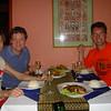 Eten met Paul en Andre