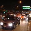 Eeuwig verkeer in Bangkok