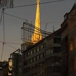 Zonsondergang in Wenen