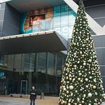 Weense kerstboom voor het hotel