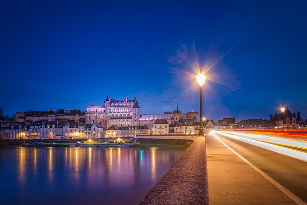 Amboise by night