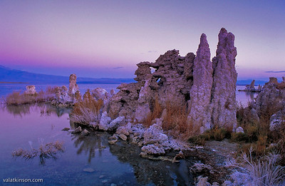 Tufa Towers on Mono lake, California