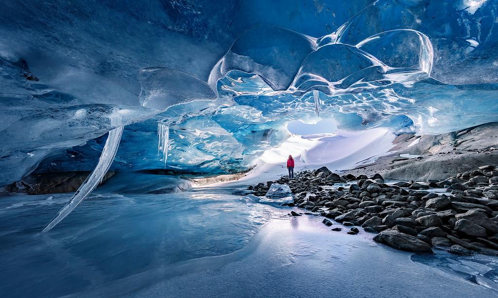 Aletsch Glacier Ice Cave