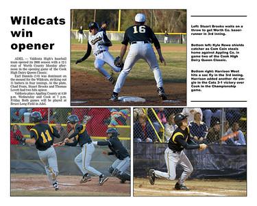 2008 VHS Baseball Year Book
