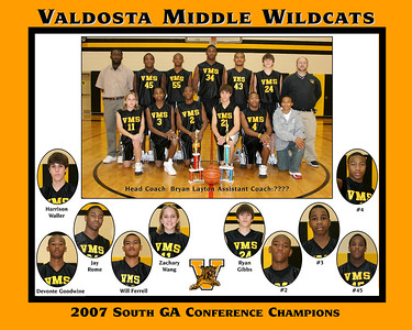 VMS 8th Gr  boys Basketball