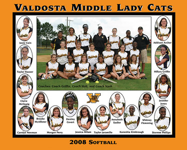 2008 VMS Softball