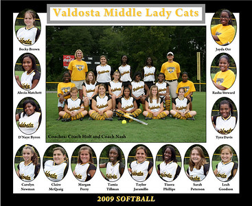 2009 VMS Softball