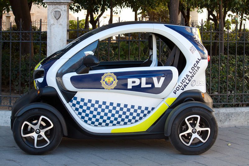 Small Police Car