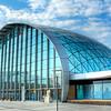 The Feria Glass Dome in Valencia, Spain