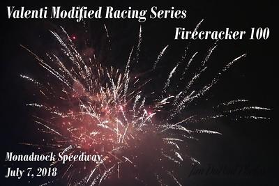 VMRS 7/7/2018 Firecracker 100 Monadnock Speedway