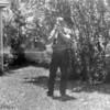 Photographer Me. Back yard, Laredo