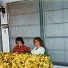Skip and Debbi on the Front porch.