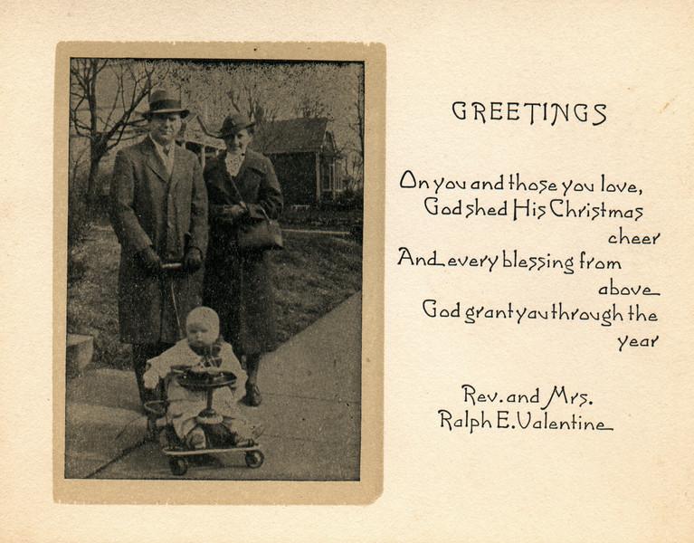 Nice Old Christmas Card