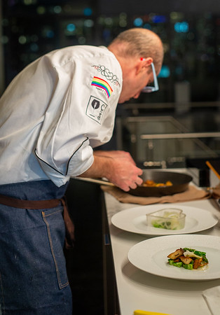 Chef Eyal Liebman Cooking & Plating