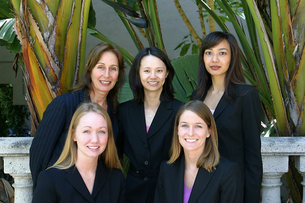 Top row (from left-to-right): Caroline, Valerie, Aileen Bottom row: Kali, and Megann