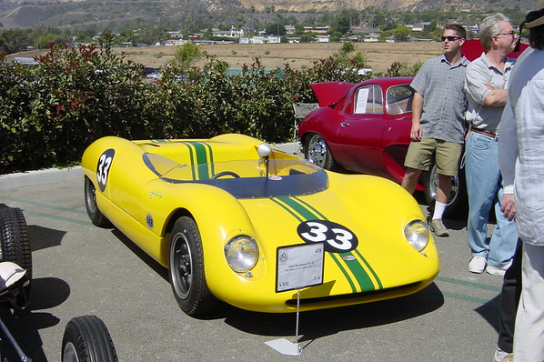 This 1963 Bragham BT-5 was the 3rd place closed wheeled racer (Photo by Valerie)
