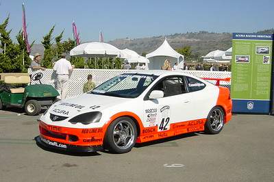P.D. Cunningham's RSX was there, but sadly not his NSX (Photo by Valerie)