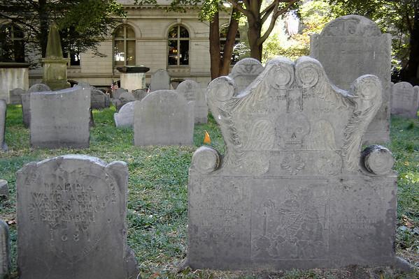 More tombstones