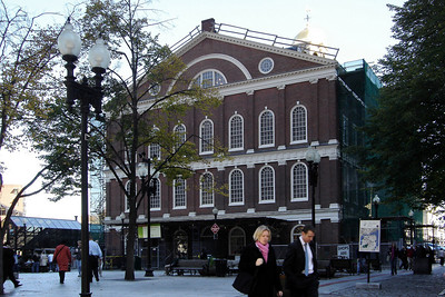 I reach Faneuil Hall, but need to head back