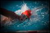 Codi Saunders swimming for Valhalla against Granite