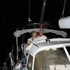 Transitting the Panama Canal at night - by Vicki Shea on V50 ErinBrie