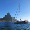 The Pitons on St.Lucia