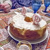 photo by Cynthia - THE  CAKE - Mrs V's recipe for Feather Cake made by LIsa.