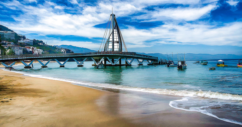 New Los Muertos Pier, Puerto Vallarta