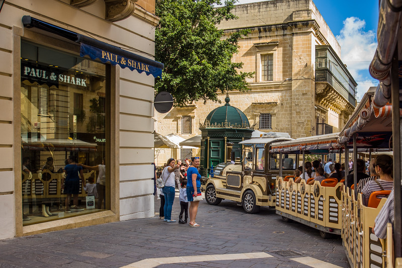 City tour, Valletta