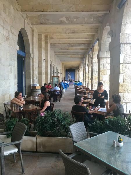 Lunch in 3 cities- Vittoriosa