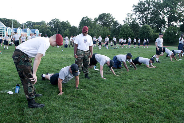 Plebe Training