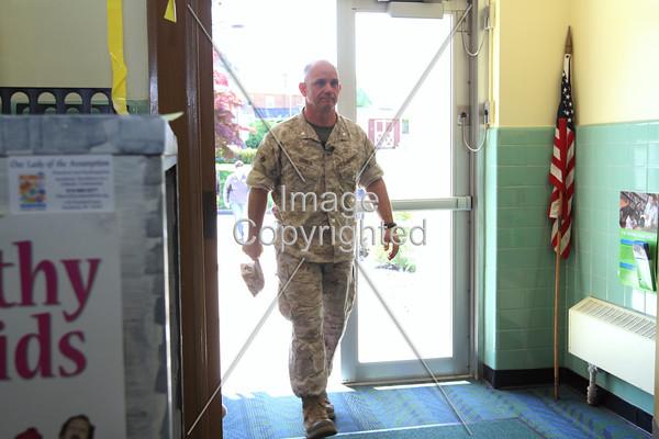 Lt. Col.Church's Return