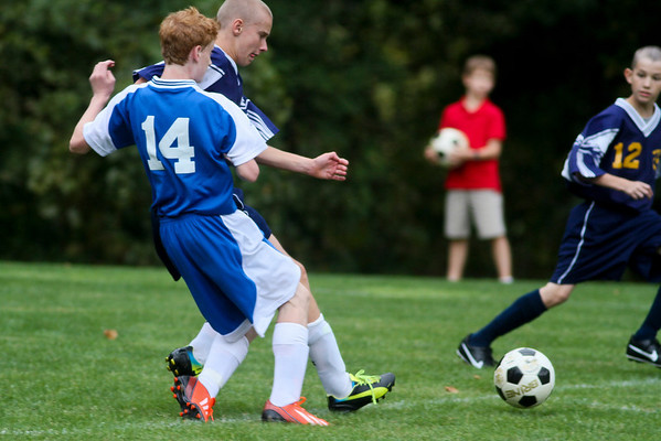 Middle School Soccer vs. Benchmark