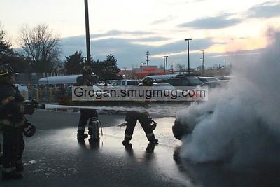 BJ's Car Fire 2/12/13