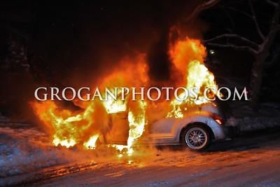 Car Fire Valley Lane West 2/2/15