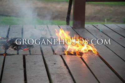 Gazebo Fire 5-27-14