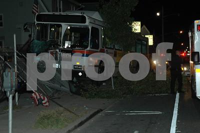 MTA Bus Accident Merrick Road
