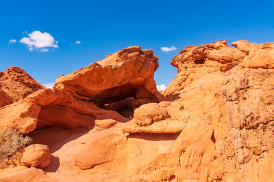 Eroded Sandstone in Valley of Fire