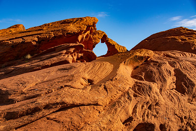Carved Arch in Valley of Fire