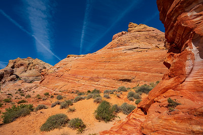 Layred Rocks in Valley of Fire State Park