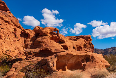 Arch in Valley of Fire State Park